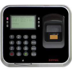 SOYAL AR-837 (EF) rejestrator czasu pracy ze skanerem biometrycznym
